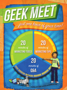 Geek meets webinar