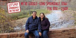 googleize springdale, utah