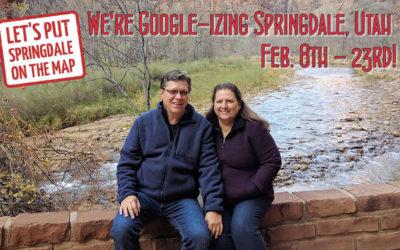 Google-izing Springdale, Utah